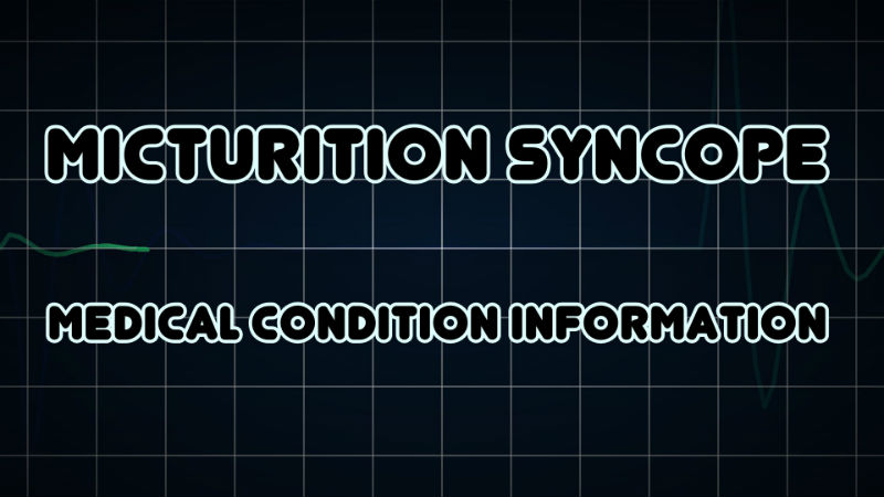 Micturition Syncope
